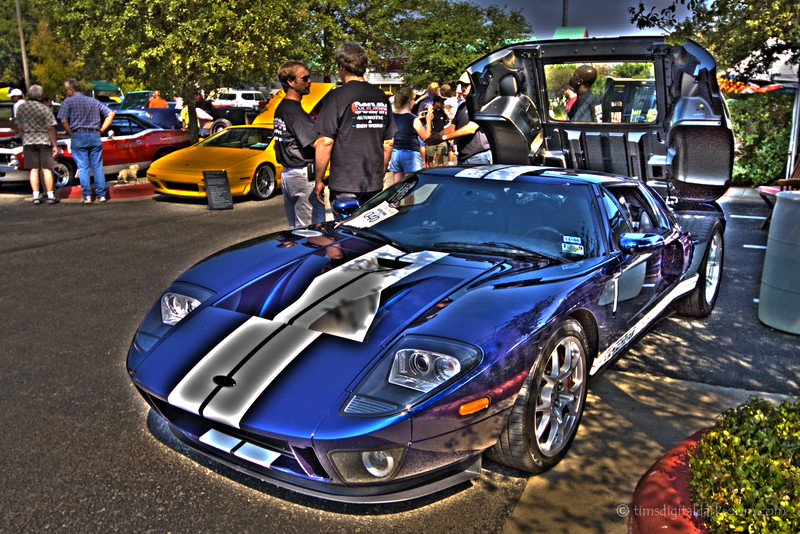 Ford GT - Texas Classic Car Show 2008