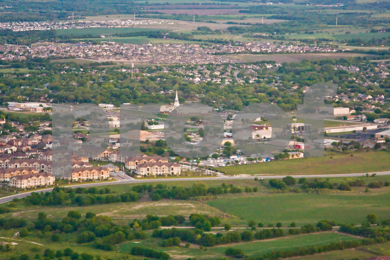 Aerial Photography  FBC Pflugerville Texas 78660