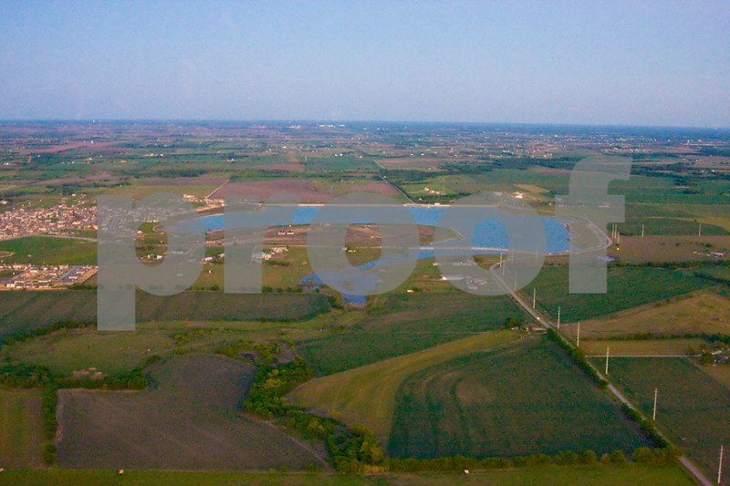 Lake Pflugerville, FBC Pflugerville, and I-35 Aerial Photos